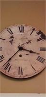 Vintage style wall clock portobello