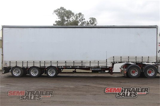 1999 Vawdrey Drop Deck Curtainsider Semi Trailer Sales - Trailers for Sale