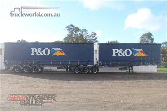 1997 Freighter 34 Pallet Curtainsider B Double Set - Trailers for Sale