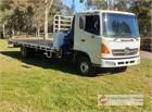 2005 Hino FD Crane Truck