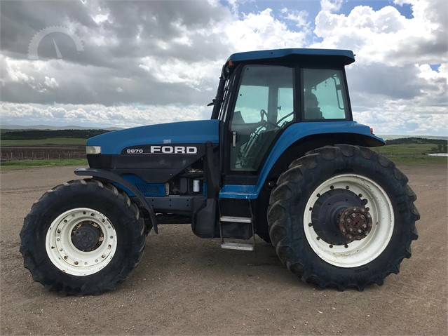 Lot # 8018 - FORD 8870