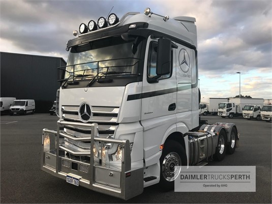 2018 Mercedes Benz Actros 2663 LS Daimler Trucks Perth - Trucks for Sale