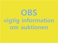3355 NET: AUKTION OVER 20 FODS SEJLBÅD MOMSFRI (DYSSEGÅRD)