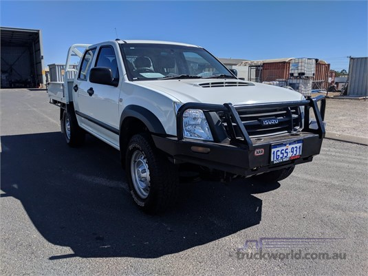 2010 Isuzu UTE D-Max 4x4 Sx Crew Cab Chassis - Light Commercial for Sale
