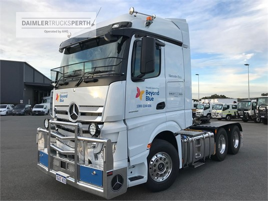 2019 Mercedes Benz Actros 2658LS StreamSpace Daimler Trucks Perth - Trucks for Sale