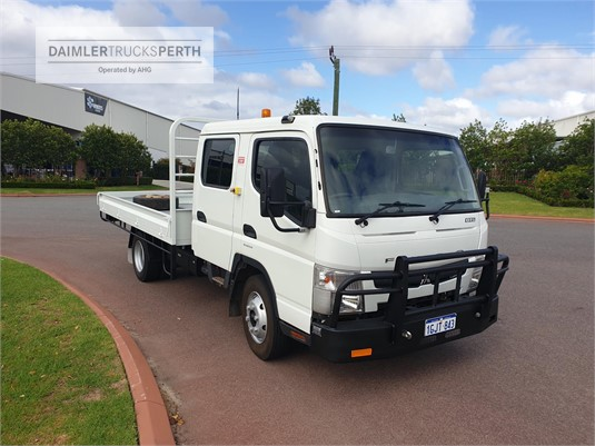 2013 Fuso Canter 815 Wide Crew Cab Daimler Trucks Perth - Trucks for Sale