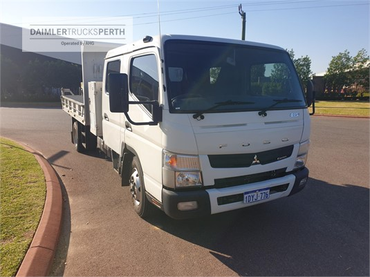 2012 Fuso Canter 815 Wide Crew Cab Daimler Trucks Perth - Trucks for Sale