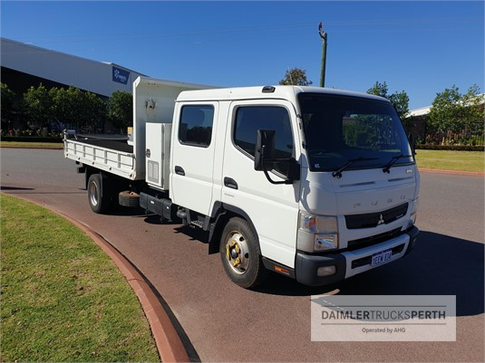 2012 Fuso Canter 815 Wide Daimler Trucks Perth - Trucks for Sale