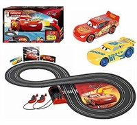 Disney Cars Carrera 1.First Slot Car Race Track