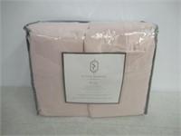 St.Clairs Essentials Sheet Set - King - Pink