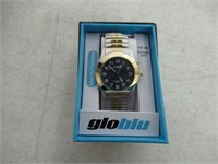 GloBlu Men's Gold/Silver Watch
