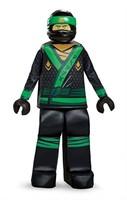 Lego The Ninjago Movie Prestige Childs LG Costume