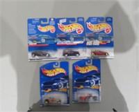 Lot of (5) Mattel Hot Wheels