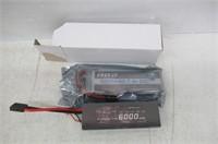HRB 2s 7.4v 6000mah 60c RC Li-Poly Lipo Battery