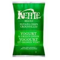 (x4) Kettle Chips Yogurt and Green Onion Chips,