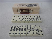 """""""As Is"""" Set of 28 Double Six Dominoes"""