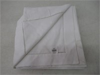 """""""Used"""" Distinctly Home Hemstitch Tablecloth 60X120"""