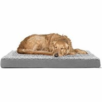 FurHaven Pet Dog Bed Deluxe Orthopedic Ultra