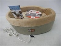 K&H Manufacturing Thermo-Kitty Heated Cat Bed,
