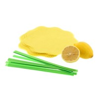 Lemon Wraps with Ribbons