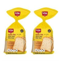 (4) Schar Gluten Free Artisan Baker White Bread