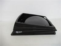Camco 40711 RV Aero-Flo Roof Vent Cover, Black