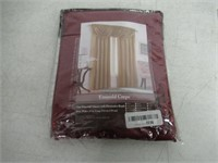 Emerald Crepe One Waterfall Valance With