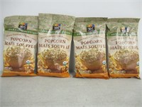 Lot of (4) Bags of 365 Popcorn, White Cheddar,