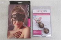 Calexotics Ben Wa Balls & Augenmaske Eye Mask