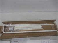 YAMAZAKI home Leaning Ladder Rack White