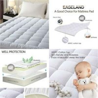 """""""Used"""" EASELAND Quilted Fitted Mattress Pad"""