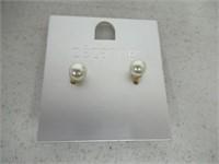Cezanne Pearl Stud Earrings