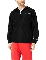 Champion Men's Small Packable Jacket, Black