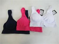 Shekini Women's XL Sports Bras, 3-Pack ,