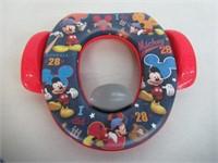 "Disney Mickey Mouse ""All Star"" Soft Potty, Blue"