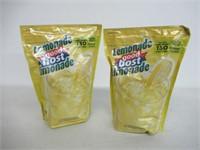 (2) GOOD HOST Lemonade Mix, 1.7kg Pouch