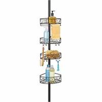 InterDesign Twigz Metal Wire Tension Rod Corner
