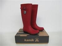 Kamik Women's 7 M US Jennifer Rain Boots, Dark