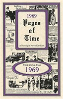 1969 Pages of Time Kardlet (PT1969) 50th Gift