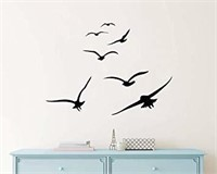 GESTYZ Flying Birds Wall Decals Birds Vinyl Decals