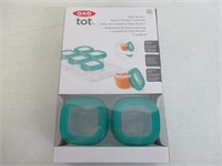 OXO Tot Baby Blocks Food Storage Containers, Teal,