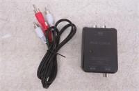Insignia Optical/Coax Digital-Analog Converter