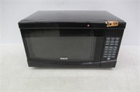 """""""As Is"""" RCA Microwave Oven, RMW733-BLACK"""