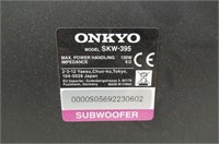 """""""As Is"""" Onkyo Subwoofer Model SKW-395, 100W"""