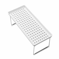 madesmart Medium Stacking Shelf - White CABINET