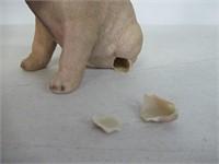 """As Is"" Hi Line Sitting Pug Puppy Figurine"