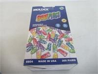 Moldex Sparkplugs Tapered Foam Polyurethane