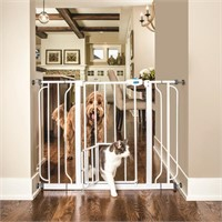 Carlson Extra Wide Walk Through Pet Gate with
