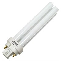 (2) Philips 383323 Compact Fluorescent Lamp 18W