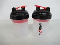 (2) Six Star Pro Nutrition Shaker Bottle